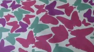 Butterfly Custom Wall Stickers For Girls Room Or Nursery