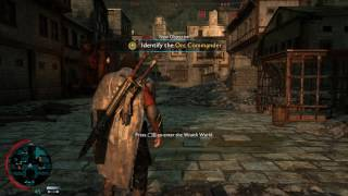 La Tierra Media: Sombras de Guerra. Gameplay en 4K