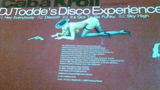 Caba kroll presents Dj Toddes Disco Experience (its go to funky) 1999