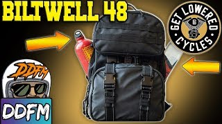 The BEST Motorcycle Backpack? The Biltwell Exfil-48 Motorcycle Backpack