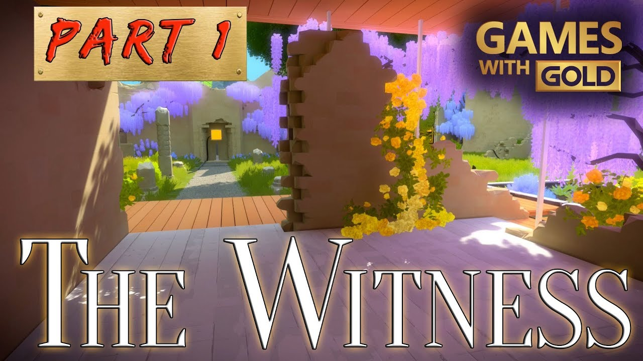 The Witness Walkthrough Part 1 Xbox One Games With Gold