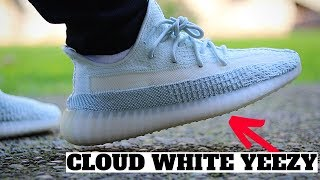 WORTH BUYING? adidas YEEZY BOOST 350 V2 CLOUD WHITE Review & ON FEET