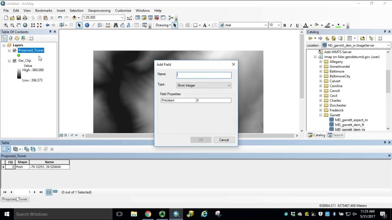 Module 6: How to Perform a Viewshed Analysis in ArcGIS for Desktop
