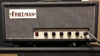 Friedman Dirty Shirley Mini Demo