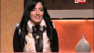 دينا عادل توضح علاقتها بزينات صدقي - E3lam.Org