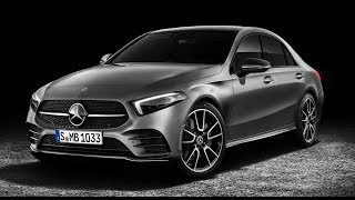 2019 Mercedes Benz A Class Sedan Design Review
