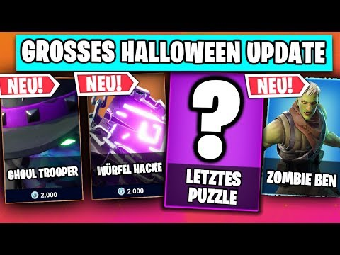 Das LETZTE Puzzleteil 😱 Halloween Update Teaser Nr. 3  | Fortnite Season 6 Deutsch German