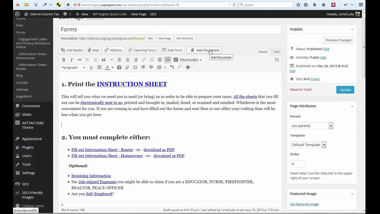 how to add pdf file on wordpress
