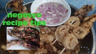 Calamares | paano mag luto ng calamares pang negosyo | Pilipino street foods | cook and taste
