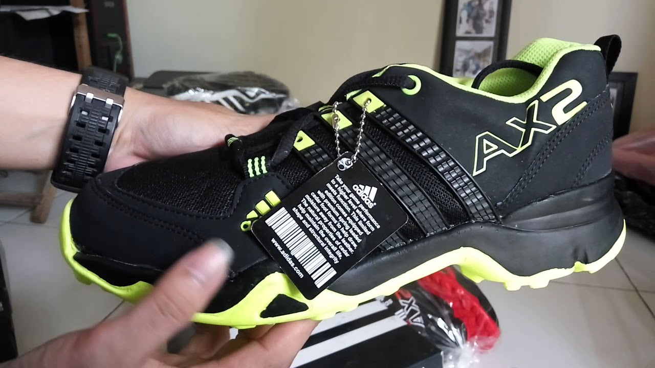 spesifikasi sepatu adidas ax2 su youtube