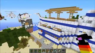 PopularMMOs EPIC JUMP MAP ULTIMATE TROLLING VS GRENADES MOD   Minecraft Mods Vs Maps   Black Holes,