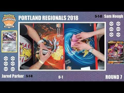 Sam Hough Vs Jared Parker Swiss R7  Portland Pokémon Regional Championships