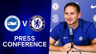 Frank Lampard: Hakim Ziyech Injured, Ben Chilwell & Thiago Silva Nearly Ready | Brighton v Chelsea