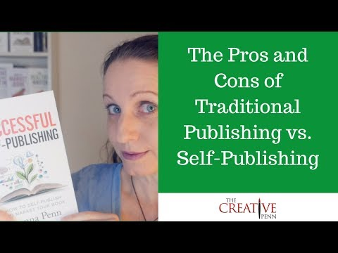 Pros And Cons Of Traditional Publishing vs Self-Publishing | The
