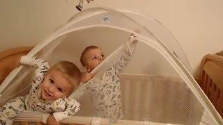 Twins Escape From Crib