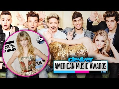 Taylor Swift's Dress Inspired By One Direction at American Music Awards 2013?
