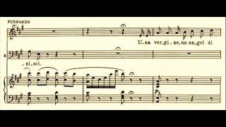 Fernando de Lucia - Una vergine, un angel di Dio (La Favorita) 1904