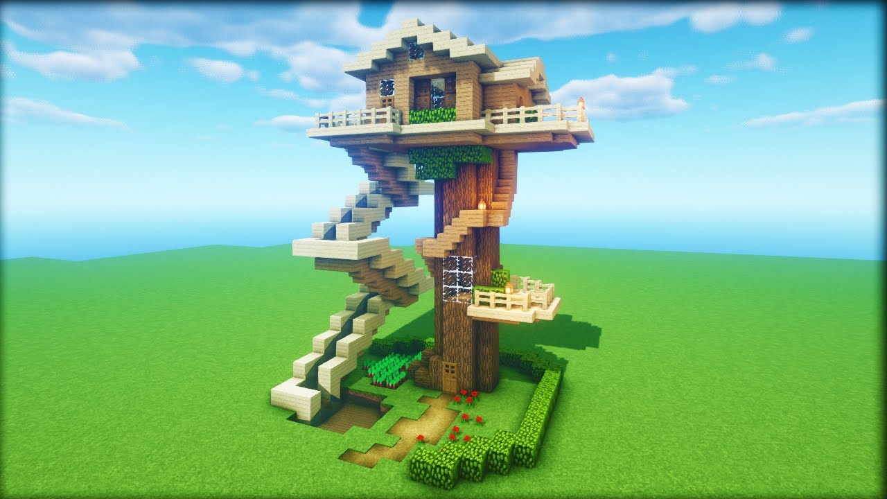 Minecraft Tutorial: How To Make A Wooden Survival ...