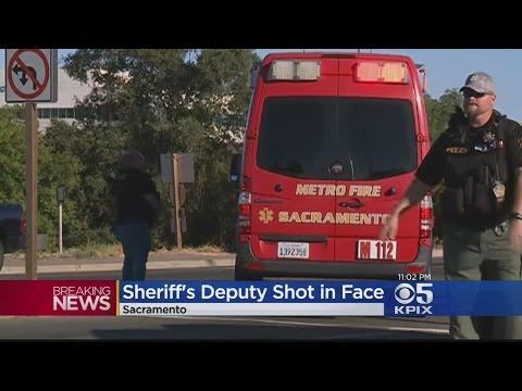 Law Enforcement Officer Shot In Sacramento