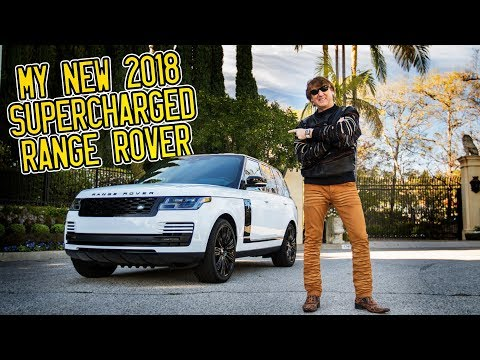 Here In My Garage, My New 2018 Range Rover Supercharged!