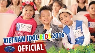 than tuong am nhac nhi 2016 - cac thi sinh vong audition mien nam
