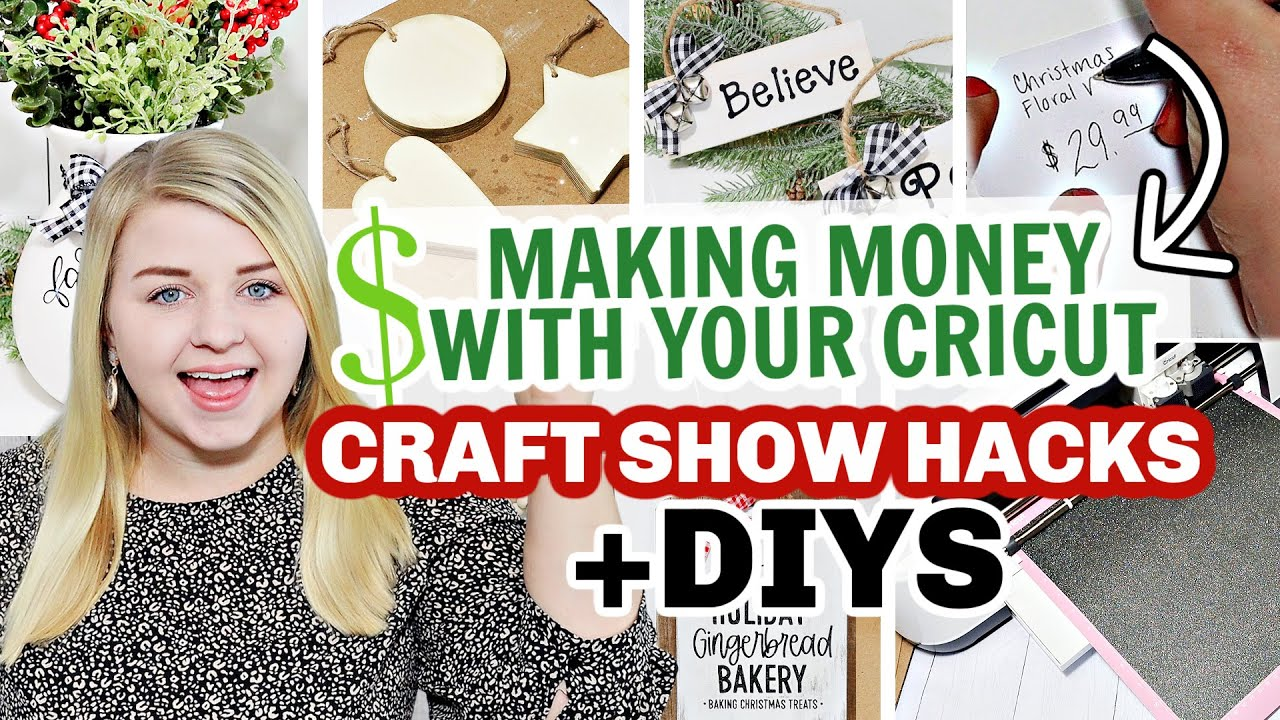 Download Genius Ways to Make Money With your Cricut! (My Secrets to Sell Crafts) + Christmas DOLLAR TREE DIYS