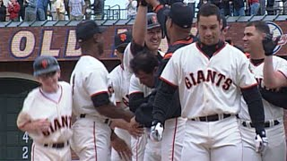COL@SF: Kent scores Snow with a walk-off double