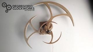 Aerial Kinetic Sculpture Prototype by DeGregorio Clockworks