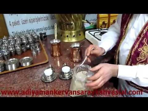 adıyaman kervansaray kahvesi nasıl yapılır, adıyaman kervansaray kahvesi yapılışı