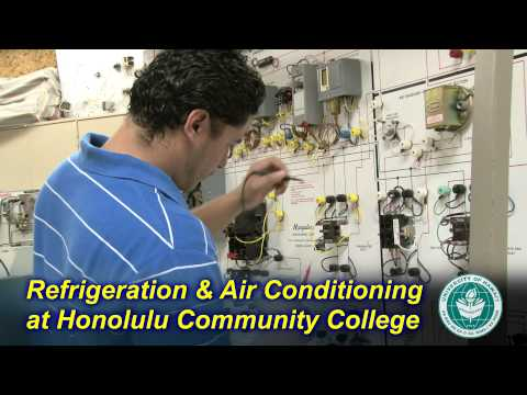 Refrigeration & Air Conditioning at Honolulu Community College