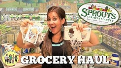 SPROUTS FARMERS MARKET GROCERY HAUL   WHAT DID WE BUY?   PRODUCE & SNACKS  PHILLIPS FamBam Hauls