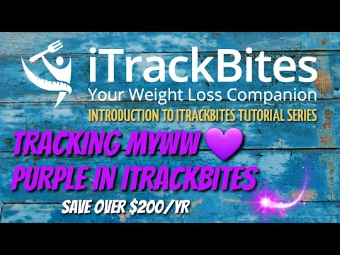 👩🏻🏫-itrackbites-tutorial-|-tracking-myww-💜-purple-in-itrackbites