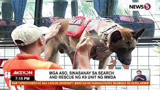Aksyon News5's feature of the MMDA K9 Search and Rescue Unit