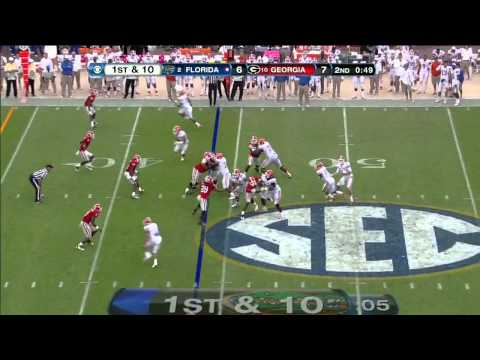 Jarvis Jones vs Florida 2012