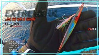 EXTREME ULTRALIGHT JIGGING || Jackpot dogtooth tuna || HFB 53 part 1