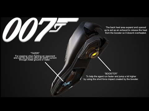 Gadgets From The James Bond Series