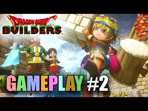 Dragon Quest Builders GAMEPLAY #2 - Build a Workshop!
