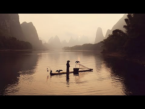Photographing Guilin! River Rafting And Cormorant Fishermen