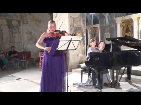 Sihana Badivuku Hodja -violin, Maja Kastratovic - piano