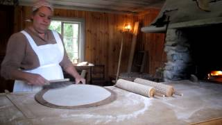 Swedish Flat Bread Baking