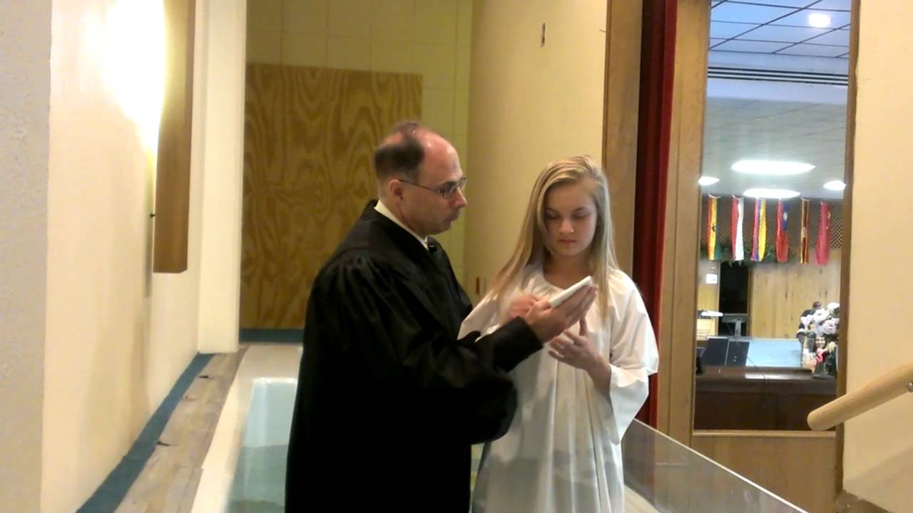 My Prissy Girl Gets Baptized - Youtube-8148