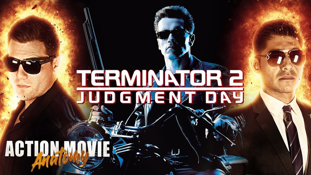 Terminator 2 Judgment Day Arnold Schwarzeneggar Review Action Movie Anatomy Youtube