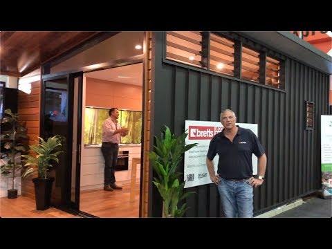 Bretts Prefab Modular Homes Tiny House Brisbane Youtube