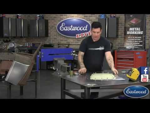 How to Make a Body Panel from Scratch!  Great Cowl Panel Sheet Metal Fab from Eastwood