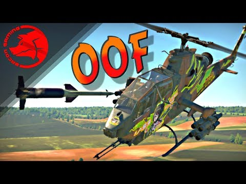 Helis In Ground RB | How To Use & Counter | (War Thunder Update 1.89)
