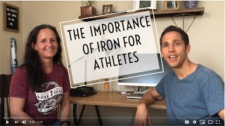 The importance of iron with Dietician Kristina von Castel