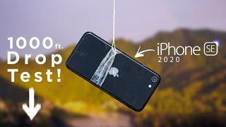 Apple I Phone SE 1000 Feet Drop Test - Will It Survive ?