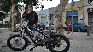 My custom electric chopper bicycles (old projects slide show)