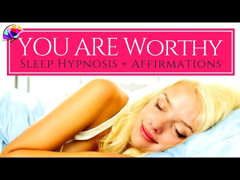 Self Love & Self Worth - Sleep Hypnosis + YOU ARE Affirmations For Self Love (90 Min)