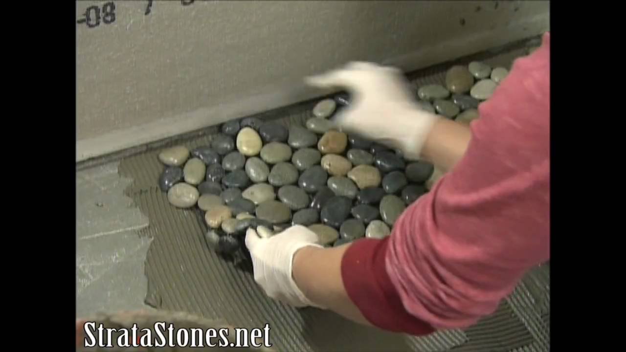 stratastones pebble tile